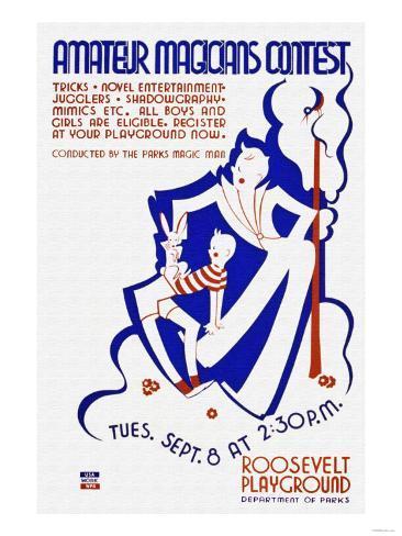 Amateur Magicians Contest Art Print