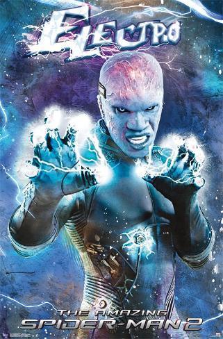 Amazing Spider-man 2 - Electro Poster
