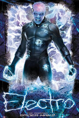 Amazing Spiderman 2 - Electro Poster