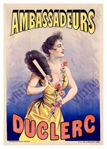 Ambassadeurs Duclerc Giclee Print