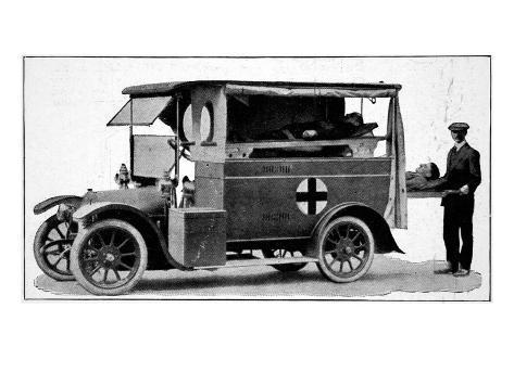 Ambulance Giclee Print