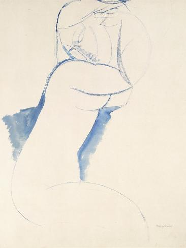 Caryatide, C.1913 Impressão giclée