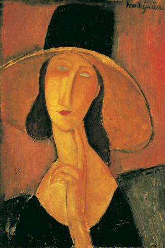 Jeanne Hebuterne Poster