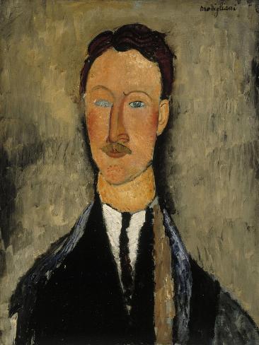 Portrait of Léopold Survage (1879-196) Lámina giclée