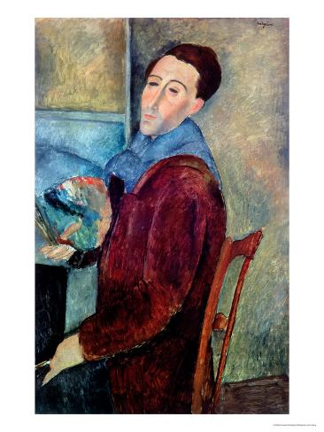 Self Portrait, 1919 Giclee Print