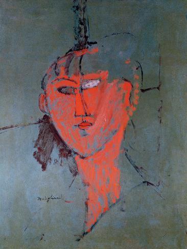The Red Head, circa 1915 Giclee Print