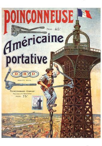 Americaine Portative Art Print