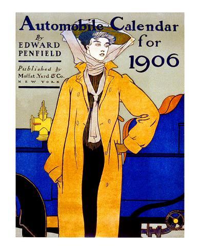 American Automobile Giclee Print