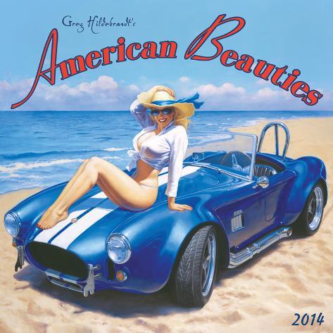 American Beauties - 2014 Calendar Calendars