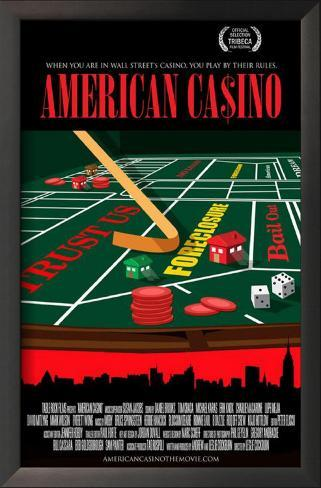 American Casino Framed Art Print