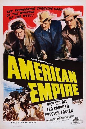 American Empire Impressão artística