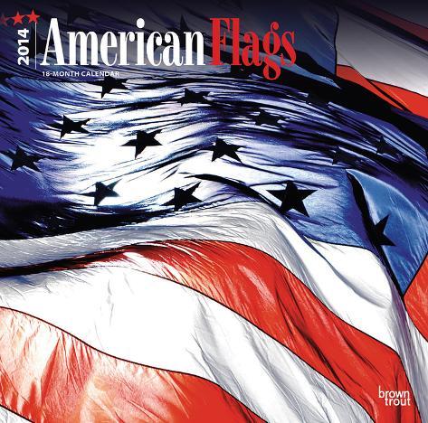 American Flags - 2014 Calendar Calendars
