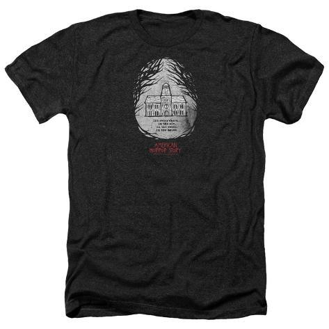 American Horror Story Roanoke Badge T Shirts