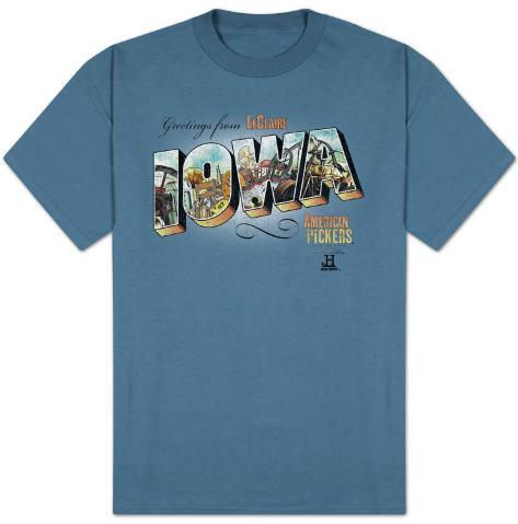 American Pickers-Greetings From Iowa T-Shirt