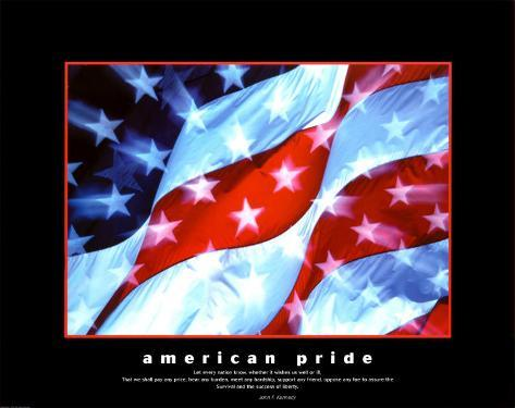 American Pride, Together They Gave Art Print