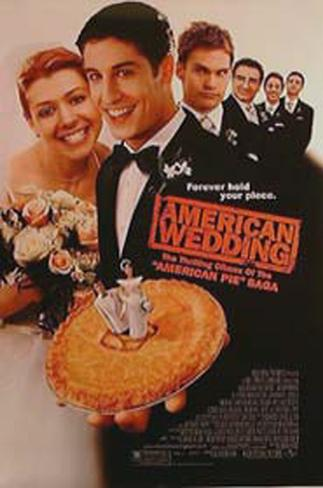 American Wedding Double-sided poster
