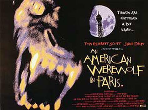 American Werewolf In Paris Original Poster