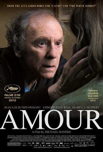 Amour Movie Poster マスタープリント