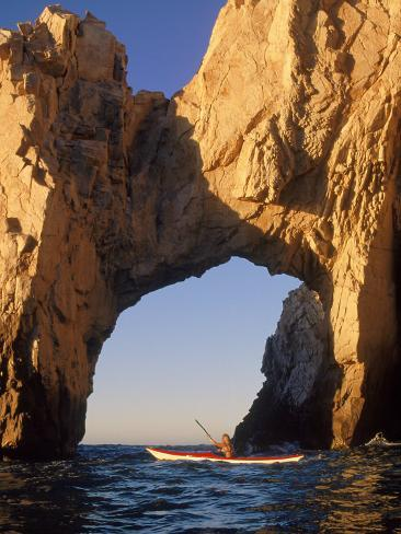 The Arch at Land's End, Cabo San Lucas, Mexico Photographic Print