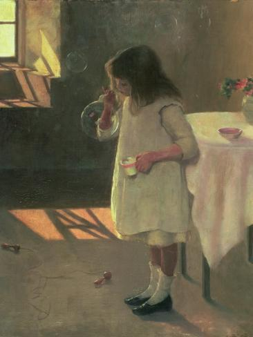 Bubbles, 1907 Giclee Print