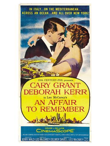 An Affair to Remember, 1957 Art Print