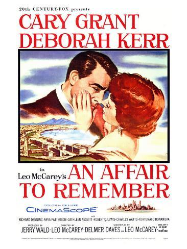An Affair to Remember, 1957 Art Print