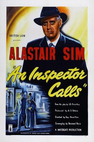 An Inspector Calls Art Print