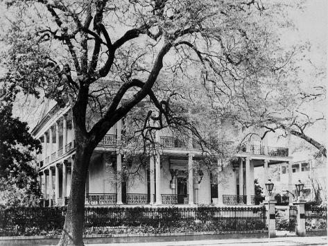 An Old Home in the Garden District of New Orleans Photographic Print