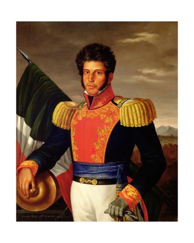 Vicente guerrero 1783 1831 1850 l mina gicl e por - Laminas antonio lopez ...