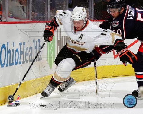 Anaheim Ducks - Saku Koivu Photo Photo