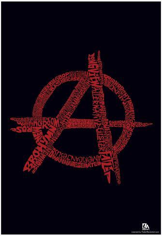 anarchy punk songs text poster posters at allposters com