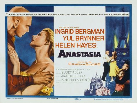 Anastasia, 1956 Art Print