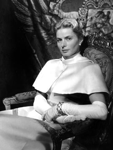 Anastasia, Ingrid Bergman, 1956 Photo