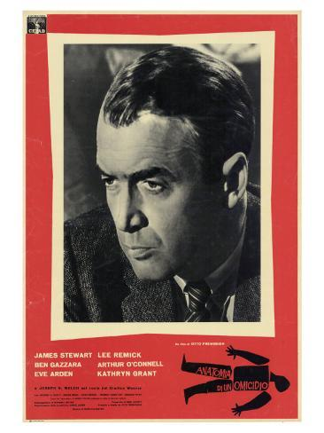 Anatomy of a Murder, 1959 Lámina