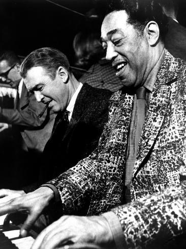 Anatomy of a Murder, James Stewart, Duke Ellington, 1959 Photo