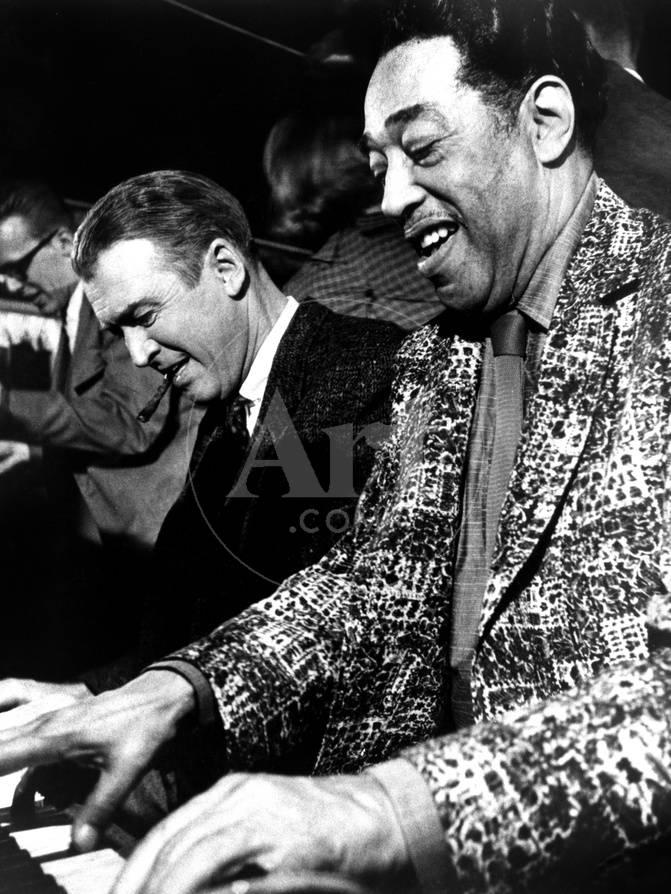 Anatomy of a Murder, James Stewart, Duke Ellington, 1959 Photo ...