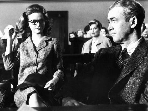 Anatomy of a Murder, Lee Remick, Eve Arden, James Stewart, 1959 ...