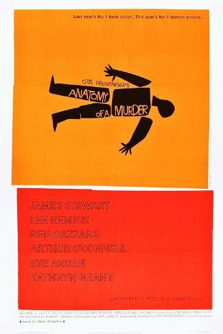 Anatomy of a Murder Art Print