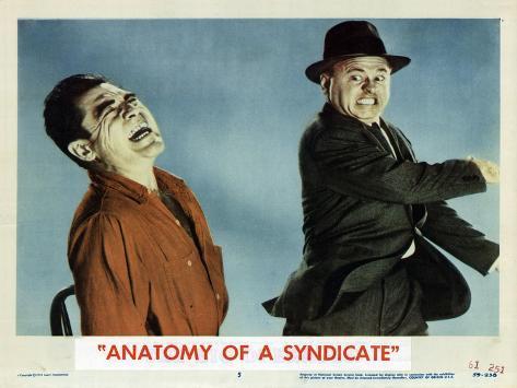 Anatomy of the Syndicate, 1961 Art Print