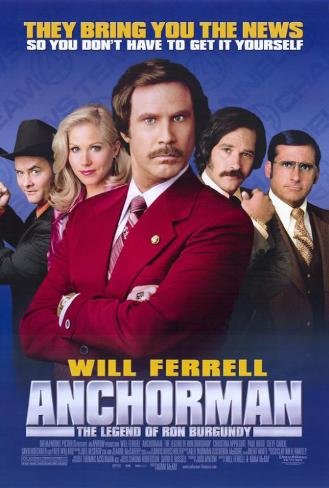 Anchorman: The Legend of Ron Burgundy Masterprint