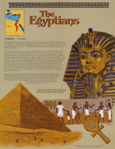 Ancient Civilizations - The Egyptians Art Print