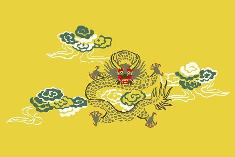 Ancient Dragon Stampa giclée