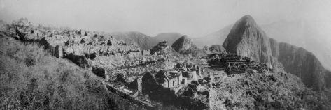 Ancient Incan City of Machu Picchu Photographic Print