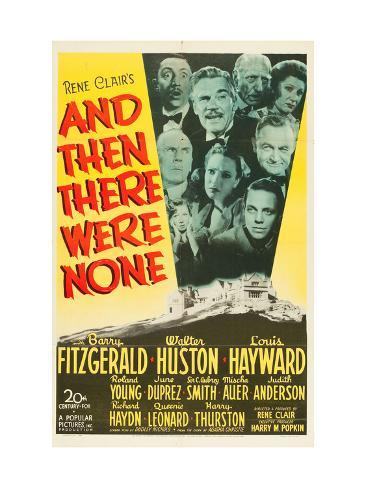 And Then There Were None, 1945 Photo