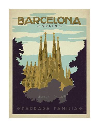 Barcelona, Spain Art Print