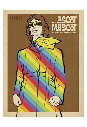 Be An Ascot Mascot Art Print