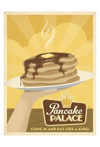 Pancake Palace Art Print