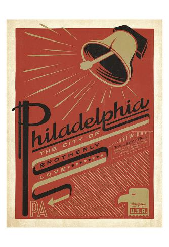 Philadelphia, Pennsylvania: The City Of Brotherly Love Art Print