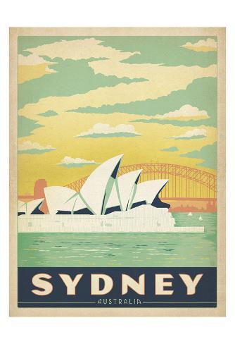 Sydney, Australia Art Print