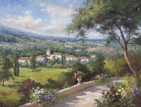 Villa Flora III Art Print